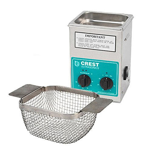 Crest CP200HT Ultrasonic Cleaner with Mesh Basket-Analog